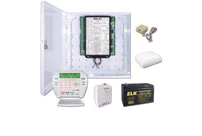ELK Products's M1 Gold system provides your customers several smarter home features!