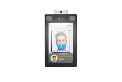 ZKTeco Touchless Biometrics with Elevated Body Temperature Detection