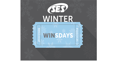 Win a $1000 Visa gift card at SES Winter WINsdays